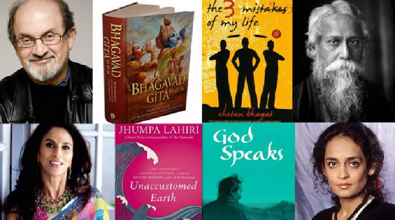 India takes pride in these six renowned authors