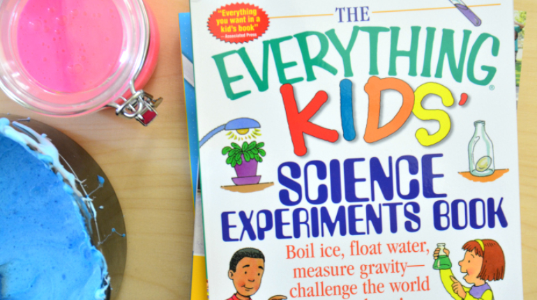 A Book Of Everything About Science Experiment For Kids.