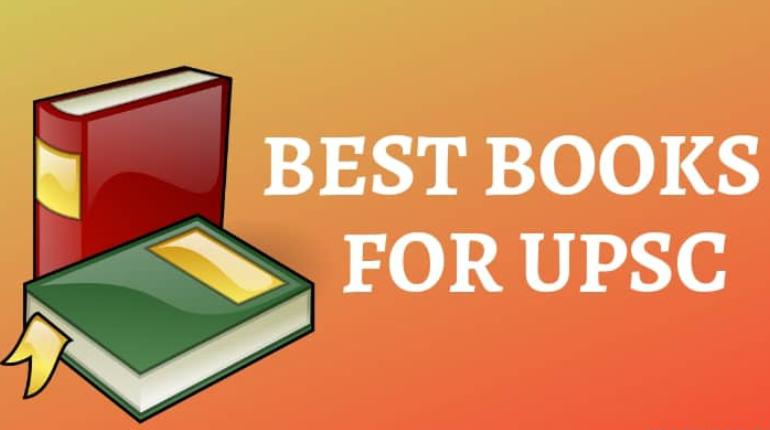 A Vector Image That Showing Two Books For UPSC Exams.