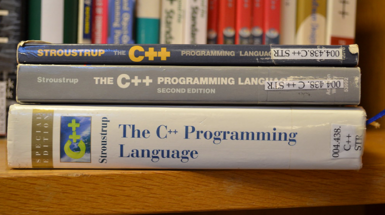 A Collection Of Computer Technology Books.