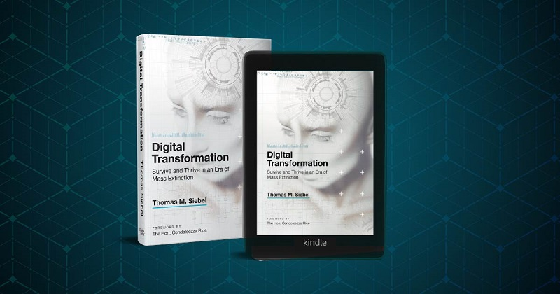 Digital Transformation - A Printed Book & E-Book Kindle